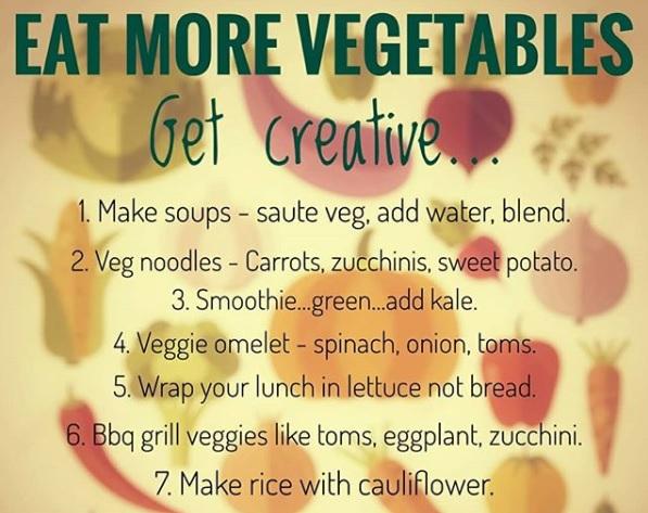 Eat more veg!