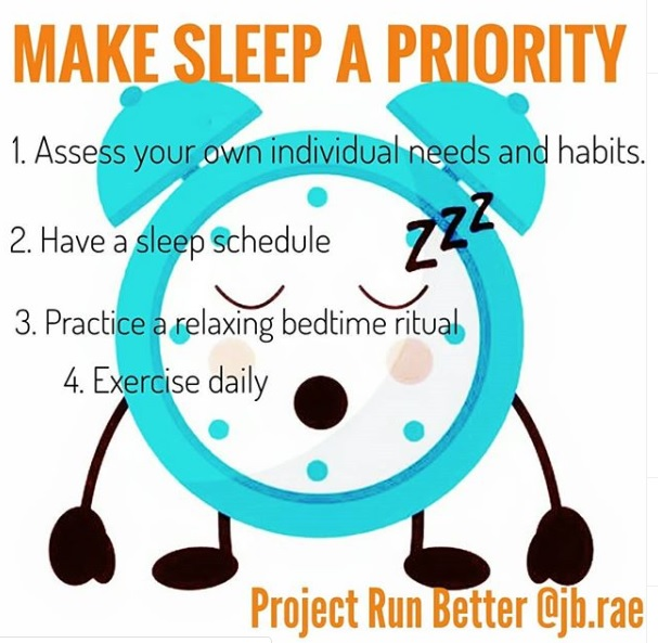 Make sleep a priority