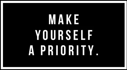 How to start prioritizing your own needs