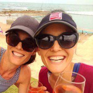 beach wine with sal